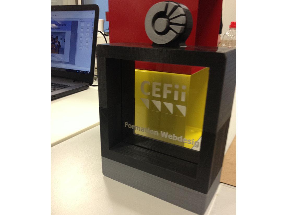 Formation Designer Web CEFii - projet impression 3D
